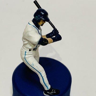 貳拾肆棒球~絕版品! 帶回 美國職棒大聯盟MLB鈴木一朗ichiro主場打擊動作 公仔PEPSI瓶蓋板 極稀少2
