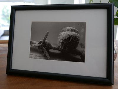 聚鯨Cetacea﹡Art【KLFZ-0085】diving潛水/airplane飛機 畫框相框