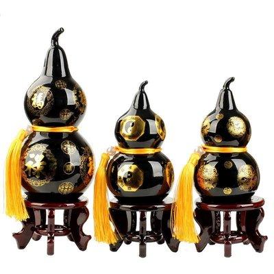哈嘍小鋪 中式泰山石葫蘆家居擺件泰山玉葫蘆風水飾品擺設工藝禮品