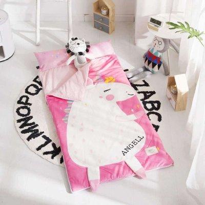 多功能可愛兒童防踢被  秋冬加厚寶寶絨大童睡袋