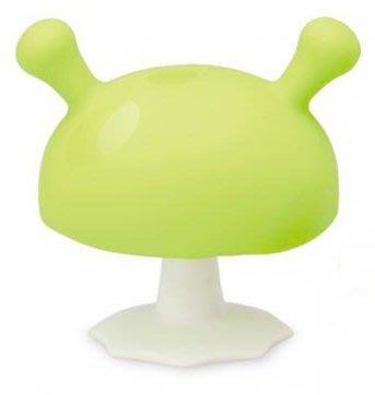 【魔法世界】mombella 媽貝樂 固齒器 Q比小魔菇 綠色