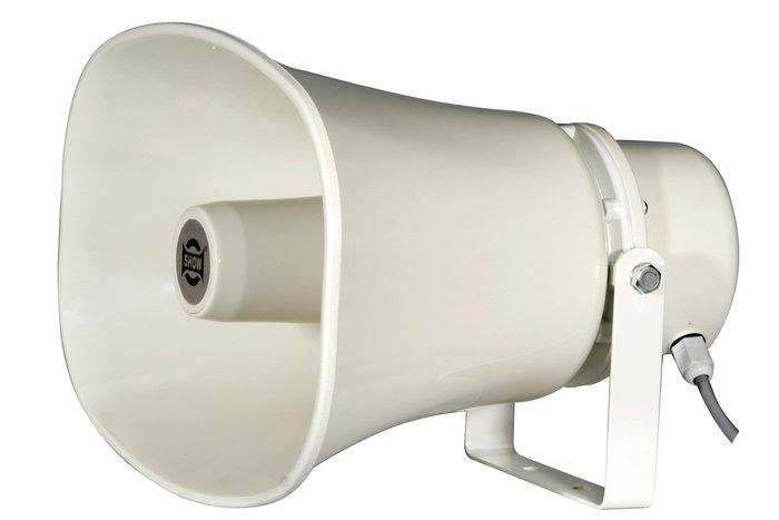 【昌明視聽】SHOW SC-30AH 高功率防水喇叭(30W) 內含中間變壓器 適用戶外廣播 鋁質外觀耐用
