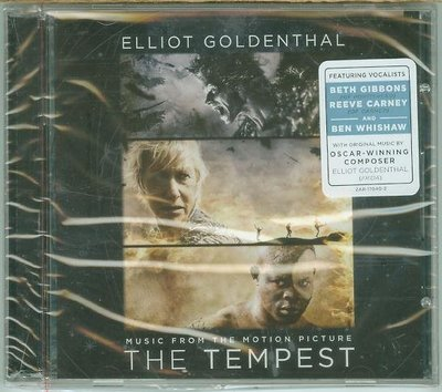 """暴風雨(The Tempest)""- Elliot Goldenthal,全新美版"