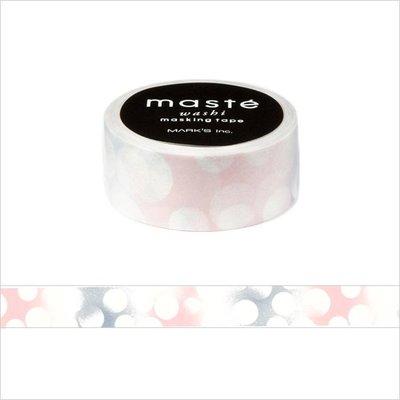 【R的雜貨舖】紙膠帶分裝 MARK'S maste和紙膠帶 粉紅戀愛泡泡