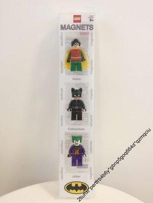 全新 Lego 851689 Robin Catwoman Joker Magnet 磁石 人仔 Super Heros DC Batman 羅賓 貓女 小丑