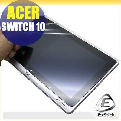 【EZstick】ACER Switch 10 SW5-012 平板專用 靜電式平板LCD液晶螢幕貼 (可選鏡面或霧面)