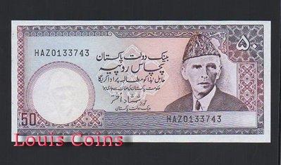 【Louis Coins】B237-PAKISTAN--1986-2006巴基斯坦紙幣50 Rupees