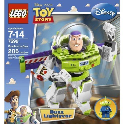 2010絕版品【LEGO 樂高】全新正品 益智玩具 積木/ 玩具總動員 Buzz Lightyear 巴斯光年 7592