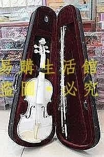[王哥廠家直销]婚紗小提琴 白色棕色 影樓攝影道具 拍照道具 (帶盒子)影樓專用 家居擺設LeGou_2094_2094