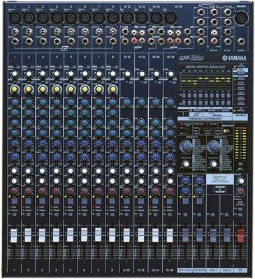 【六絃樂器】全新 Yamaha EMX5016CF 500W*2 Max 功率混音器 / 舞台音響設備 專業PA器材