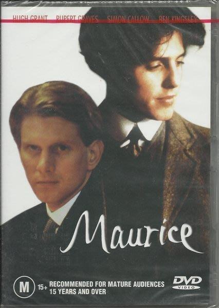 墨利斯的情人DVD(Maurice)全新未拆,全見版,英文發音