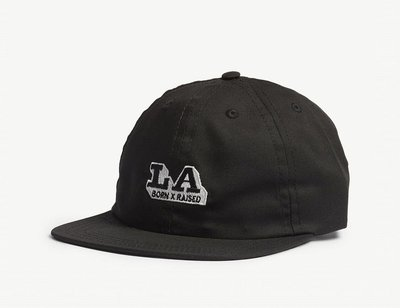 (預購)BORN X RAISED LA Express cotton strapback cap棒球帽