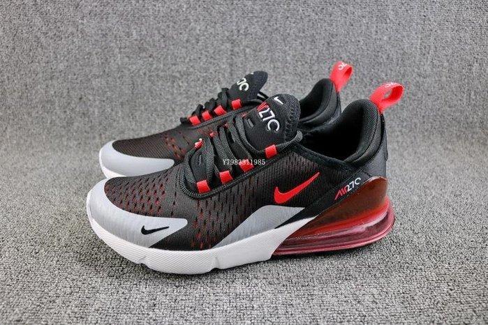 Nike Air Max 270 黑紅 氣墊 網面 經典 休閒慢跑鞋 男鞋 AH8050-015