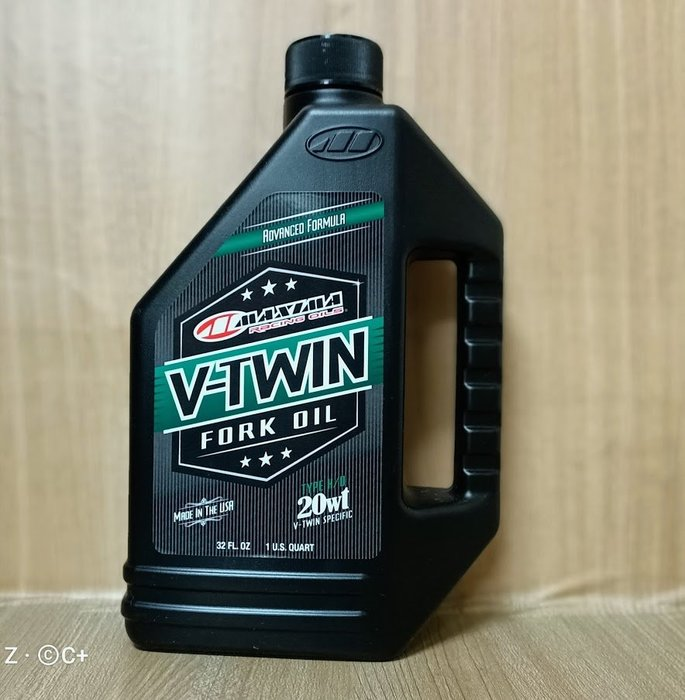 (C+西加小站)公司貨 MAXIMA V-Twin Fork Oil 美式馬 Type H/D 20w 前叉油 前避震器