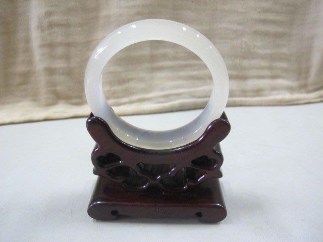 二手舖 NO.4272 頂級天然黃金玉隨手環 玉環 玉石 冰透種 種水好 值得收藏
