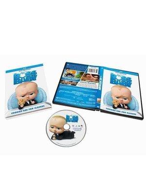 寶貝老板 The Boss Baby 電影高清動畫卡通碟片DVD純英文原版 精美盒裝