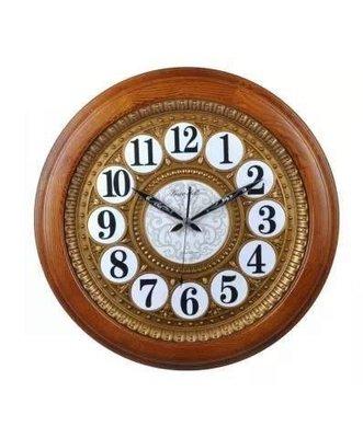 【Timezone Shop】 Diyida帝易達 實木掛鐘中式客廳22寸大掛鐘 時鐘/掛鐘/clock/壁鐘正品