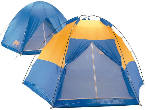 【大山野營】 送鋁箔墊手電筒 台製 犀牛 RHINO A-600 六至八人掛鉤豪華帳篷 六人帳  露營帳篷 家庭帳篷