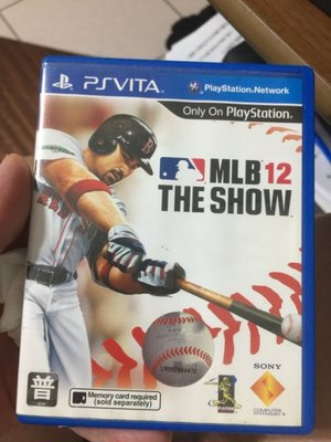 PS Vita MLB 12 The Show (美國職棒大聯盟 12) 亞洲代理英文版