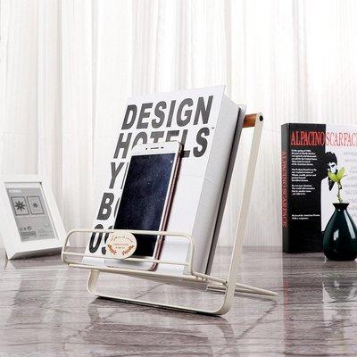 鐵藝書架-多功能平板支架 閱讀架 可折疊 桌面雜誌架 樂譜架_☆優購好SoGood☆