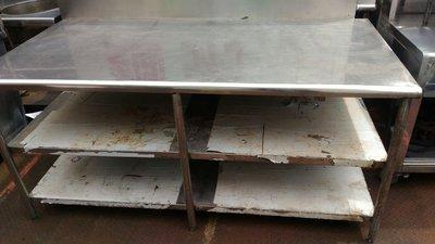 南門餐廚設備拍賣 二手3F3乘6不鏽鋼...