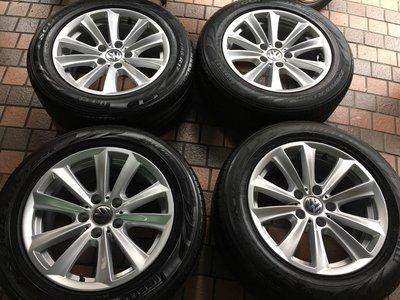 BMW 原廠17吋鋁圈含胎 E36 E46 E90 E34 E90 F10 F20 F30 VW T5 T6 福斯