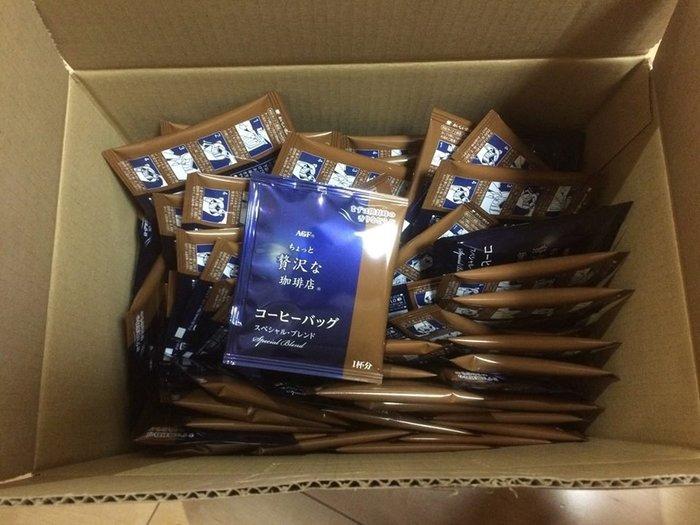 【代購】AGF MAXIM 整箱購入限定 濾掛咖啡 一箱100袋入 三種風味可選 日本代購*猫兒沖繩連線