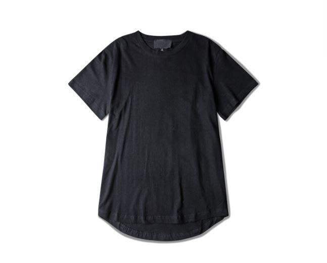 【NoComment】美式街頭 質感簡約 素面圓弧加長下擺短衣 10色 Zara Uniqlo