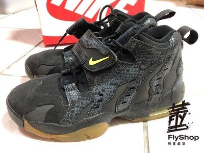 [飛董] 二手區 NIKE AIR DT MAX 96 PRM 籃球鞋 男鞋 616781 001 黑綠