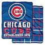 [現貨]美式棒球雙面毛毯MLB芝加哥小熊Chicago Cubs Double-Sided空調毯宿舍交換生日禮品
