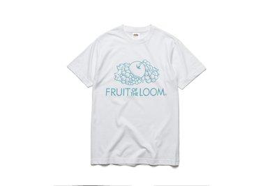 Fruit of the loom 經典LOGOT 水果牌 白色