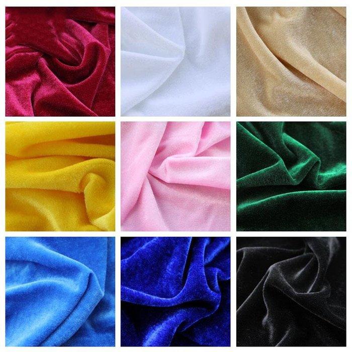 布料 金絲絨布料面料布頭清倉黑色紅色絨布展示布窗簾地攤布擺攤布桌布