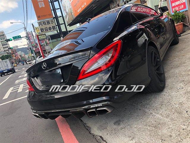 DJD19091906 BENZ W218 CLS 全車系專用 AMG款 碳纖維 卡夢 尾翼