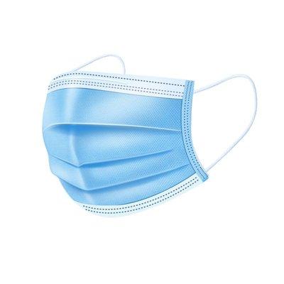 現貨壹次性口罩4D立體防護民用三層無紡布含熔噴防塵防護口罩