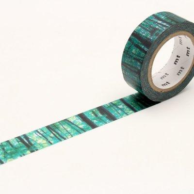 【莫莫日貨】全新 mt online shop 限定款 第4彈 和紙膠帶 紙膠帶 - 森林邊界(整捲) MT01N019