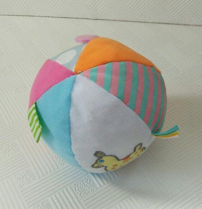 ☆奇奇娃娃屋(PW)☆JAMMY,跳跳馬(Rody)~布球(布標籤,搖鈴,整顆是響紙)~150元