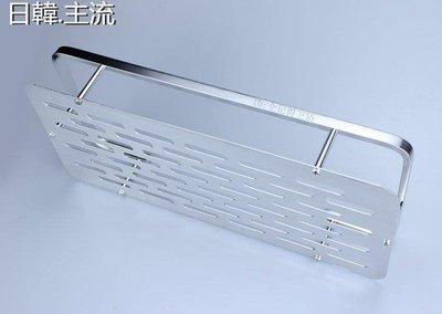 收納 浴室收納長方形衛生間置物架浴室廁所太空鋁洗漱臺壁掛洗手間雙層2層收納