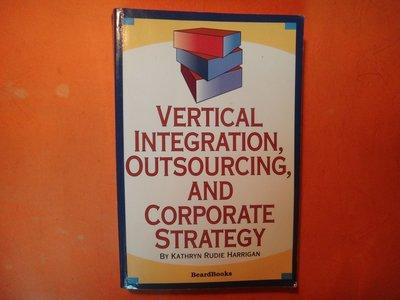 【愛悅二手書坊 15-01】Vertical Integration, Outsourcing