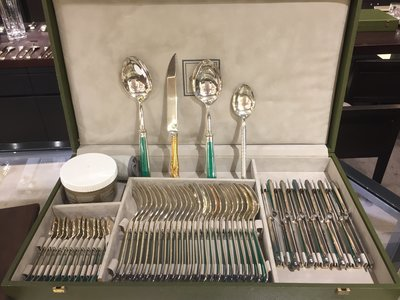 Christofle Tableware Silver Plated 52 Pieces