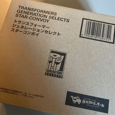 Transformers Generation Selects Star Convoy 星文