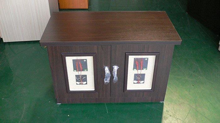 樂居二手家具館 BN1005*全新幸運草胡桃木電視櫃*TV矮櫃/平面櫃/客廳沙發櫃/高低櫃 客廳傢俱拍賣沙發