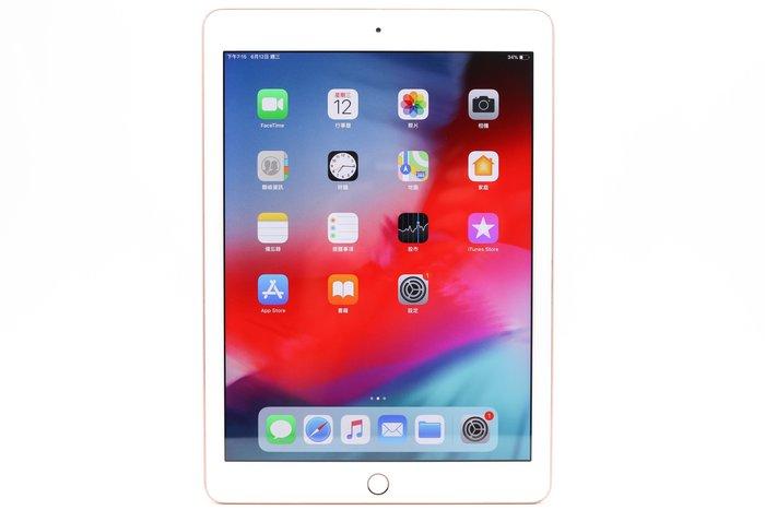 【高雄青蘋果3C】APPLE iPad 6 32GB 32G 金 WIFI 9.7吋 二手平版 A1893 #38779
