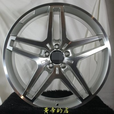 BENZ GLE 21吋鋁圈~原廠式樣 5X112規格~BENZ W164 W166 ML GLC GLE450AMG可