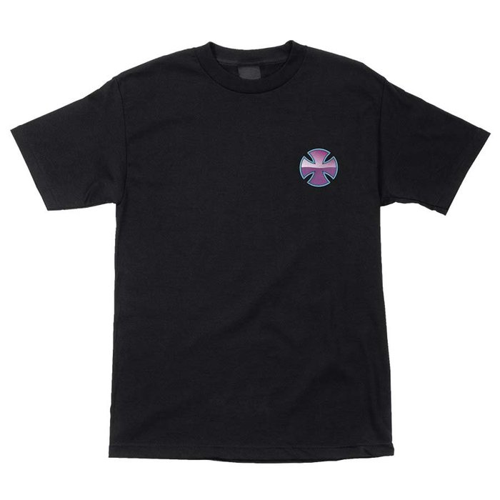 [JIMI 2] Independent - PURPLE CHROME 輪架之王 Logo短Tee 滑板