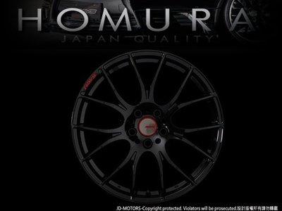 JD-MOTORS RAYS HOMURA 2X7 GLOSSY BLACK 19吋鑄造鋁圈