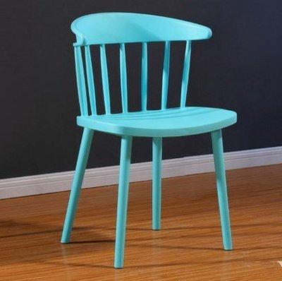 『格倫雅』現代簡約ins餐椅塑膠靠背椅北歐休閑椅咖啡奶茶店餐廳椅子^7665