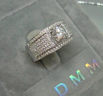 DMM 流星鑽 莫桑石/GIA 鑽石 珠寶 摩星鑽  高碳鑽 精品名牌 Moissanite 客製化  租借(一克拉/18K金材質)