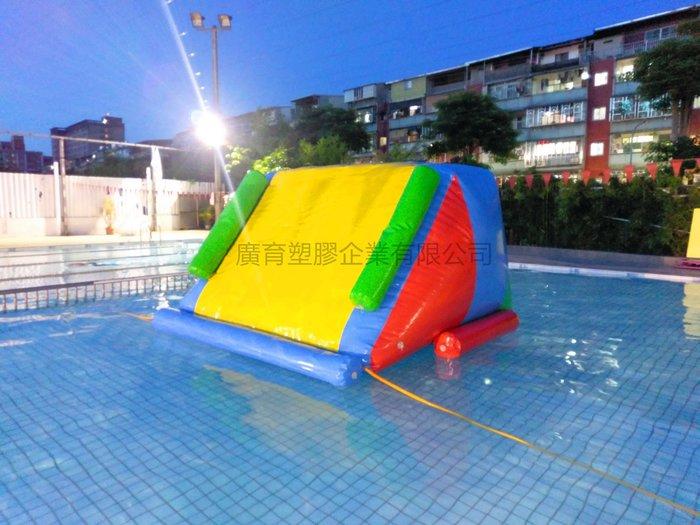 水上 充氣 溜滑梯 游泳池 城堡 游泳圈  趣味活動 遊戲屋 闖關遊戲 蹦蹦床 訂做充氣產品(廣育充氣塑膠)