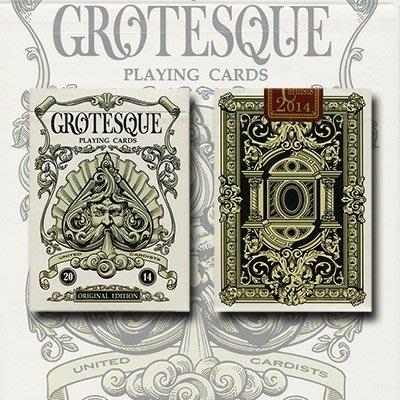 【USPCC撲克】Grotesque Original deck 無限量 白色 撲克牌