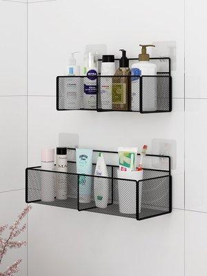 衛生間置物架免打孔浴室掛墻洗手間馬桶壁掛洗澡收納廁所墻上墻壁-精緻小店.Fine shop